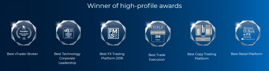Fondex Review: Broker Awards