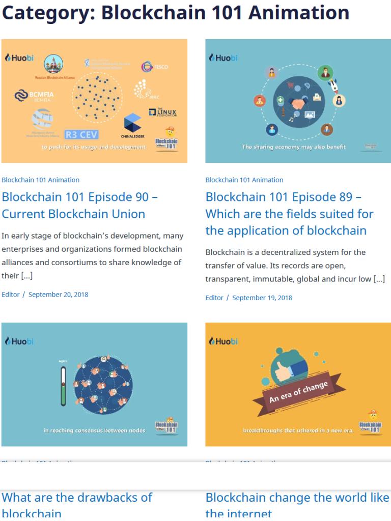 Huobi Global Review: Blockchain 101