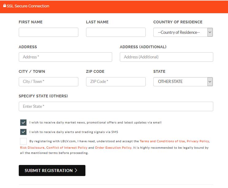 LBLV Review: Registration Form