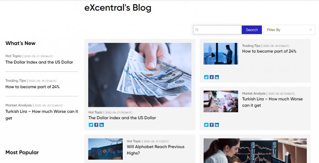 eXcentral Review: Broker Blog