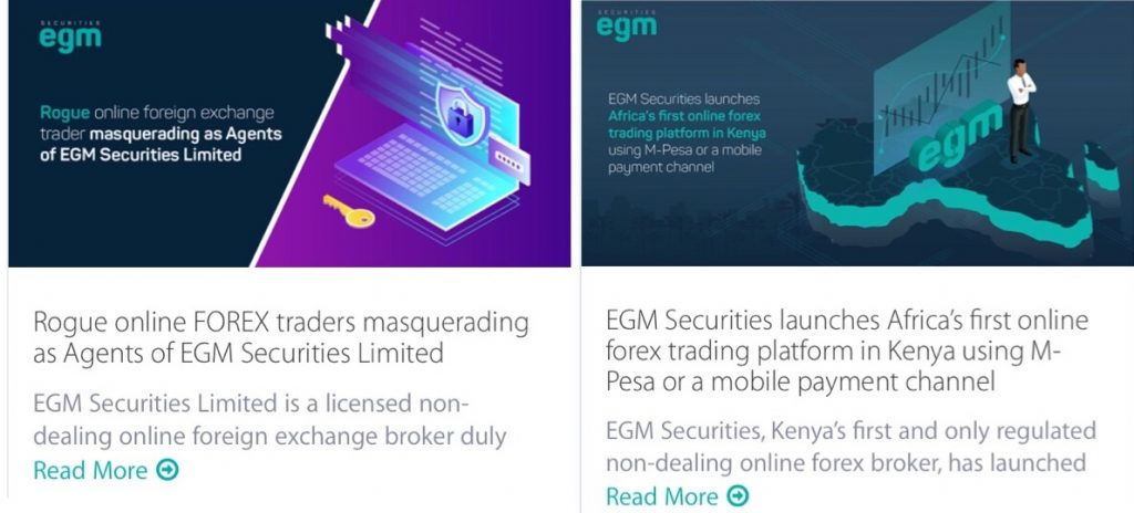 EGM Securities Trading Blog