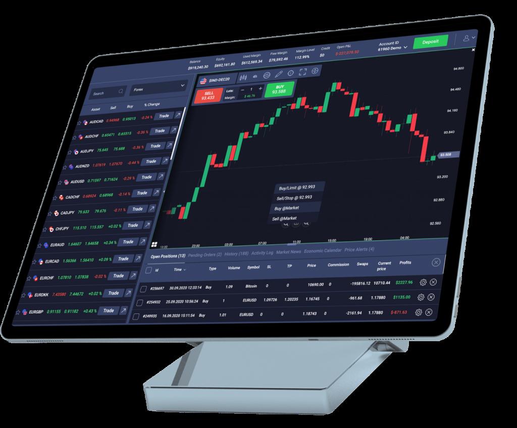 InvestLite WebTrader Platform