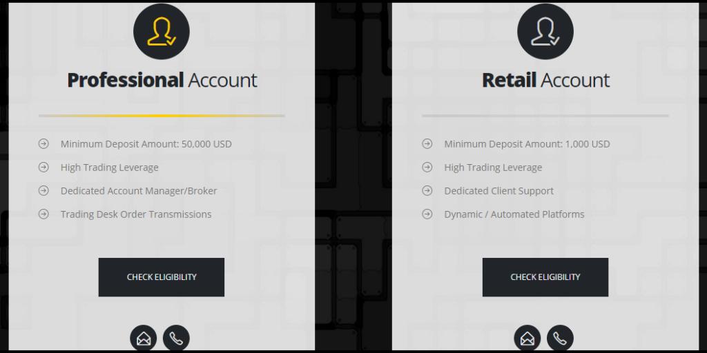 Emporium Capital Account Types