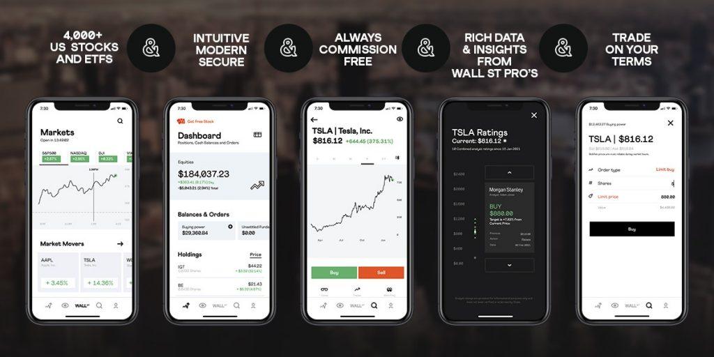 Stake Trading Platform