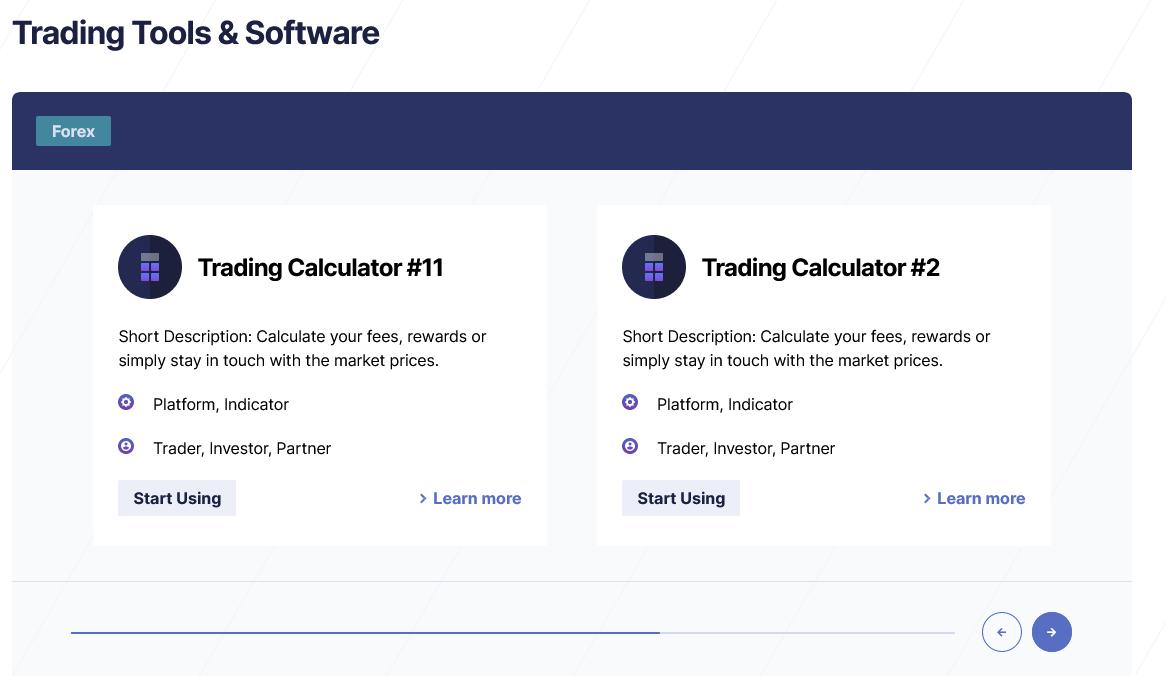 Milton Prime Trading Calculator